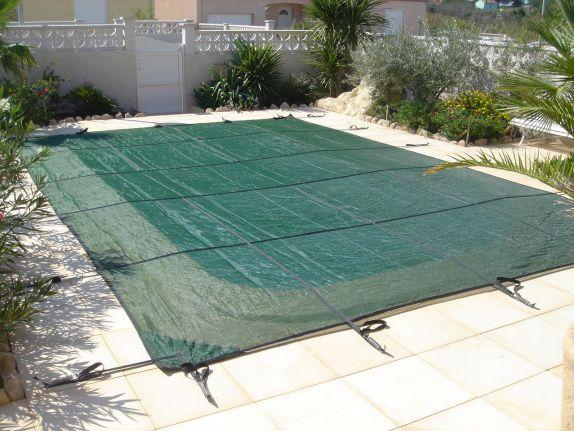 B che de piscine for Bache hiver piscine